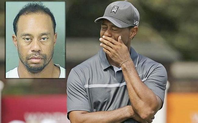Tiger Woods bị giam giữ vì bị nghi lái xe trong tình trạng không tỉnh táo do ảnh hưởng của rượu