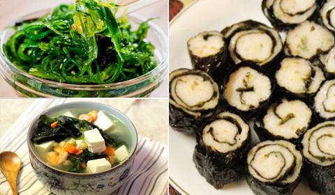 Các món rong biển dai dai giòn giòn, càng ăn càng mê cho ngày hè