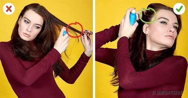 Dầu gội khô là giải pháp tăng độ phồng cho tóc hiệu quả.
