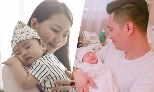 Những em bé chào đời nửa đầu năm 2017 của sao Việt