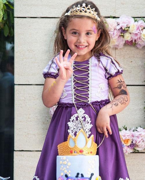 Công chúa nhỏ nhà James Rodriguez đón sinh nhật 4 tuổi hôm 29/5.