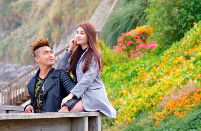 Thường xuyên sang Mỹ lưu diễn và thăm gia đình, lần này vợ chồng Kha Ly - Thanh Duy tới thành phốGarden Grove, CA,United States