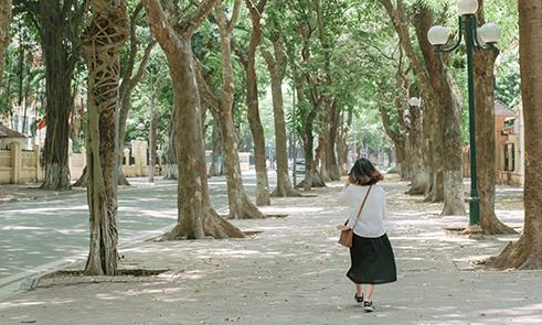 Những địa điểm chụp ảnh đẹp và phong cách ở Hà Nội