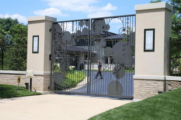 Cổng nhà