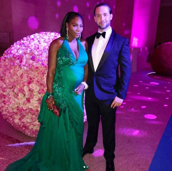 Serena và chồng sắp cưới, tỷ phú công nghệ, Alexis Ohanian.