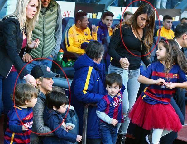 Shakira và Antonella