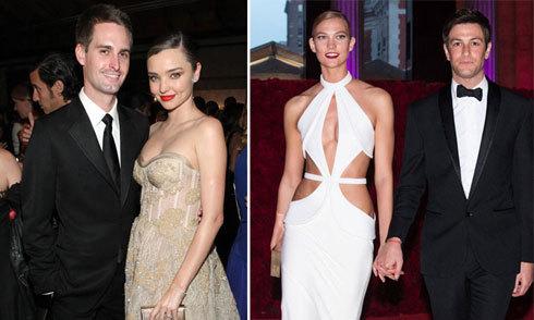 Các người đẹp Hollywood phải lòng những 'đại gia' ngành công nghệ