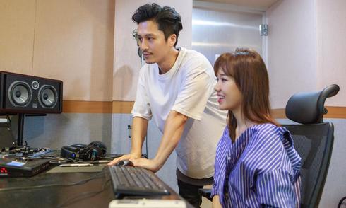 Hari Won về Hàn Quốc gặp nhà sản xuất âm nhạc của nhóm Sistar
