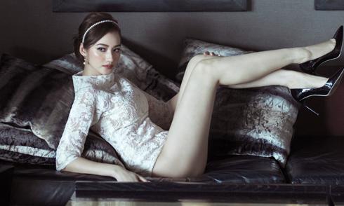 Trúc Diễm kỷ niệm tuổi 30 bằng bộ ảnh sexy