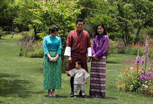 Vài ngày trước, hoàng tử nhỏ có dịp gặp gỡ công chúa Mako của Nhật nhân chuyến thăm của công chúa tới Bhutan.