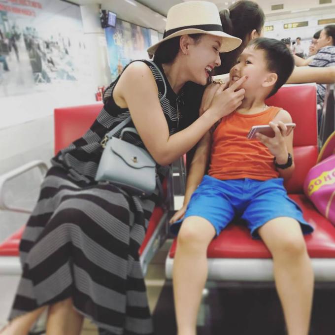 Diễn viên Bảo Thanh của Sống chung với mẹ chồng