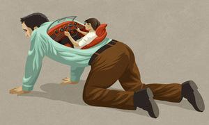 Bộ tranh lột tả những góc tối của xã hội hiện đại