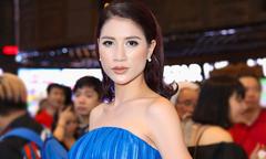 Trang Trần tươi tắn đi ra mắt phim giữa lùm xùm với nghệ sĩ Xuân Hương