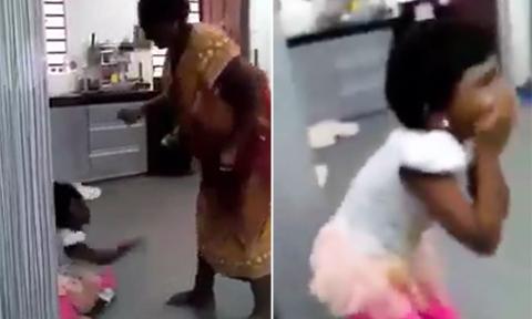 Bà ngoại đánh đập dã man cháu gái 6 tuổi