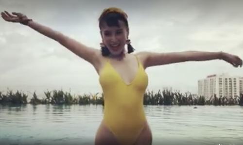 Angela Phương Trinh tung video khoe cơ thể nóng bỏng