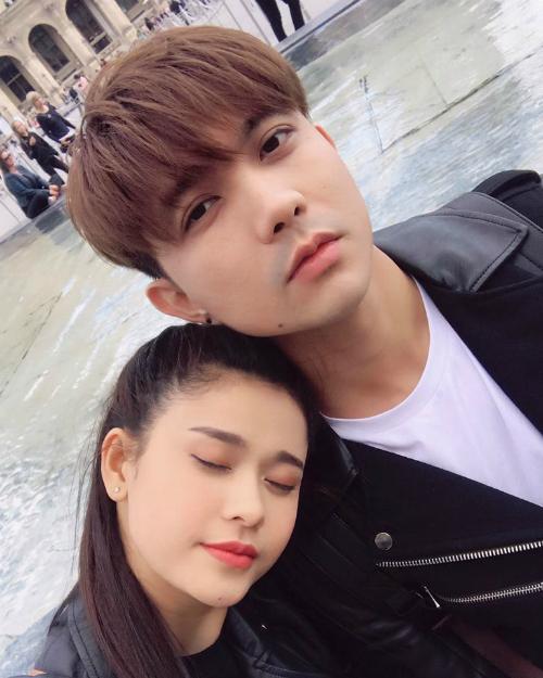 Cặp đôi Trương Quỳnh Anh - Tim tiếp tục khoe hình ảnh ngọt ngào ở Paris (Pháp).