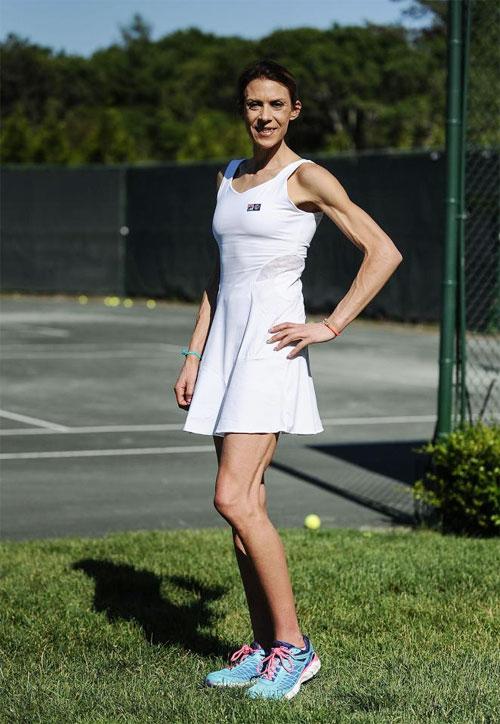 Marion Bartoli với thân hình gầy xơ xác