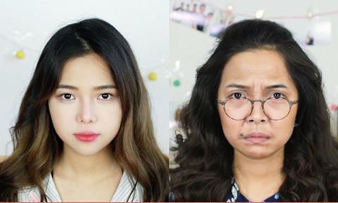 9X xinh đẹp 'biến hình' thành bà Phương trong 'Sống chung với mẹ chồng'