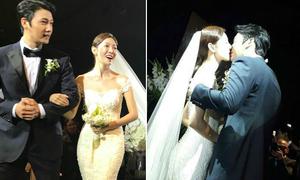 Những khoảnh khắc 'ngọt lịm' trong đám cưới mỹ nhân 'Tình yêu trong sáng'