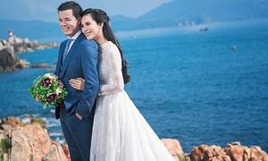 Sau đám cưới chục tỉ, Sang Lê và chồng đại gia khoe ảnh cưới lãng mạn