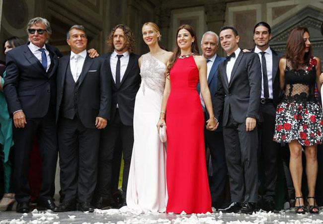 Các cựu sao Barca như Puyol, Xavi hay