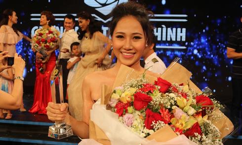 Kim Thảo đăng quang 'Gương mặt truyền hình' mùa đầu tiên