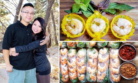 Cặp đôi Việt kiều hút fan vì 'mâm cơm quê nhà' trên mạng xã hội