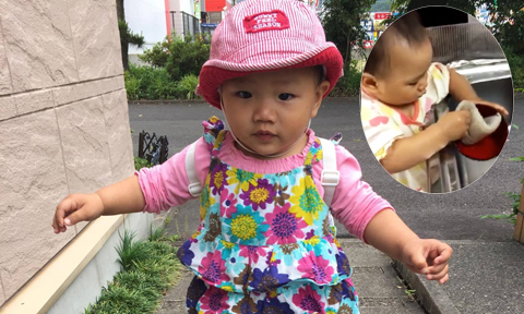 Mẹ Việt ở Nhật dạy con biết rửa bát khi chưa tròn một tuổi