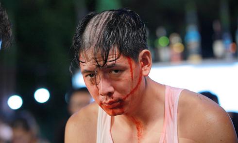Bình Minh cạo trọc đầu vì Hoa hậu Diễm Hương