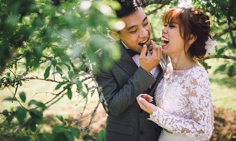 Ảnh cưới của cặp đôi yêu 11 năm mà chưa bao giờ biết chán