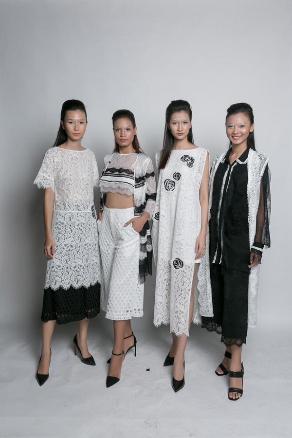 Trần Thanh Thuỷ, H Năng Niê, Thuỳ Trang và Rosa Vũ.