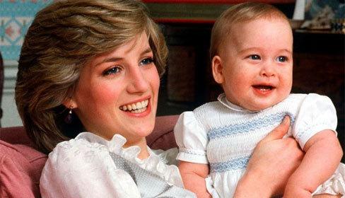 Công nương Diana từng cố tình ngã cầu thang khi mang thai