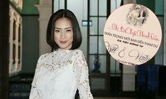 Ngô Thanh Vân khoe thiệp mời 'tiệc riêng tư' của Will và Kaity Nguyen