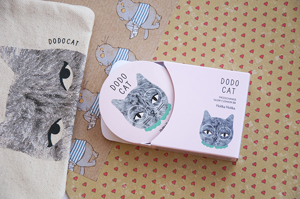 Holika Holika Face 2 Change Dodo Cat Cushion