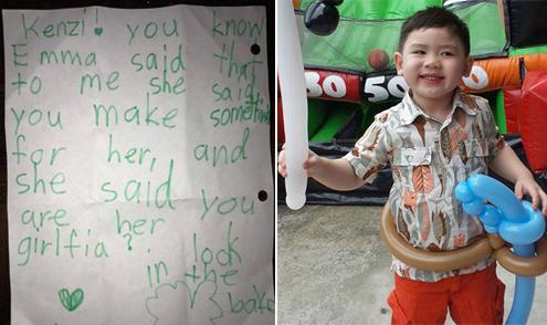 Cậu út nhà Bằng Kiều bị bạn gái viết thư 'ghen tuông'