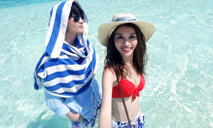 Người mẫu Quỳnh Châu và Quang Hùng chia tay sau 3 năm yêu nhau