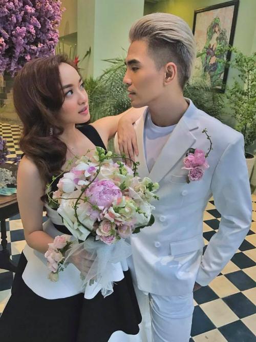 Kaity Nguyễn hoá thành cô dâu của chú rể Will trong ngày ra mắt MV của bạn trai.