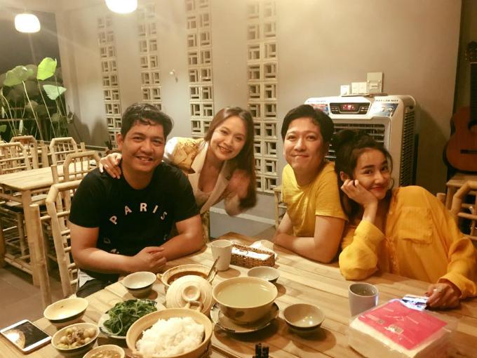 Vợ chồng Thanh Thuý