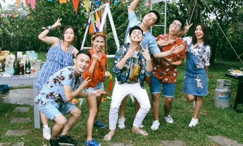 Thầy trò Noo Phước Thịnh 'quậy tưng' trong MV mới