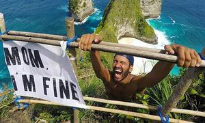 Chàng trai du lịch vòng quanh thế giới với thông điệp 'Mẹ ơi, con ổn'