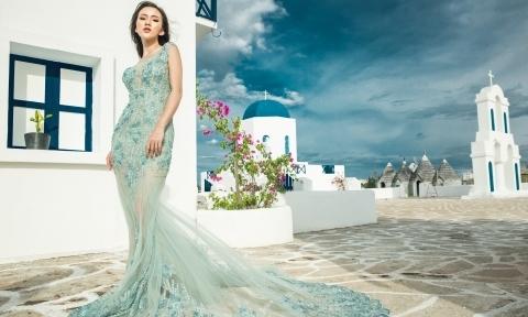 4 mẫu váy cưới đuôi cá cho cô dâu vóc dáng nhỏ nhắn