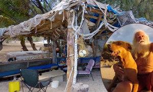 Phá sản, cụ ông 73 tuổi một mình sống trên đảo hoang suốt 20 năm