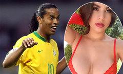 Người mẫu Playboy hết lời khen Ronaldinho sau lần gặp riêng