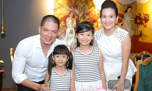 Vợ chồng Bình Minh tổ chức sinh nhật sang trọng cho con gái