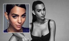 Bạn gái C. Ronaldo khoe cơ thể đẹp, ánh mắt sắc sảo trong lần đầu làm người mẫu
