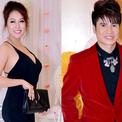 Phi Thanh Vân mặc sexy tới chúc mừng Lương Gia Huy
