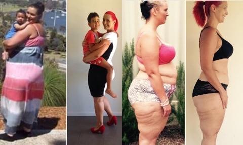 Loại bỏ 4 món khỏi thực đơn, bà mẹ 37 tuổi giảm tới 70 kg