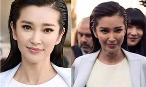 8 mỹ nhân Hoa ngữ để lộ nhan sắc nhiều khuyết điểm khi chưa photoshop