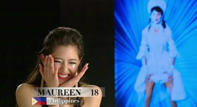 Theo ban giảm khảo, phần photo shoot luôn giữ vai trò quyết định số phận của các thí sinh. Tấm ảnh của Maureen đạt chuẩn mực theo đúng yêu cầu về cách thể hiện từ tạo dáng đến thần thái mà ban tổ chức đưa ra.  Cô cũng chính là người giành được chiến thắng ở mùa thứ 5.