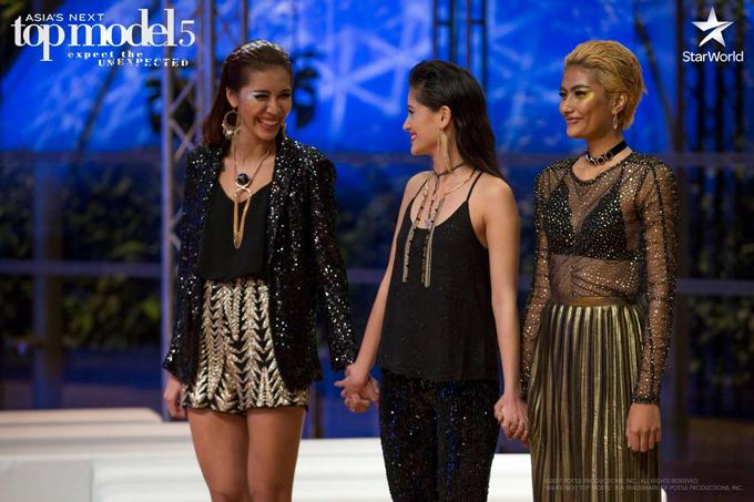 Maureen - thí sinh từng bị Minh Tú chê bai không cùng đẳng cấp, Shikin đánh giá không xứng đáng ở lại cuộc thi đã vươn lên vị trí cao nhất của Asias Next Top Model.
